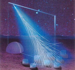 Auger cosmic ray shower